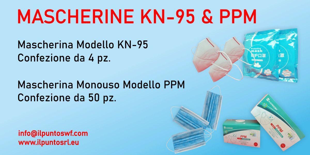 MASCHERINE KN-95 E PPM