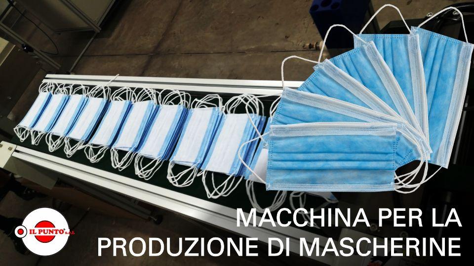 Macchina per la Produzione di Mascherine Monouso