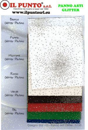 Panno Feltro Glitter